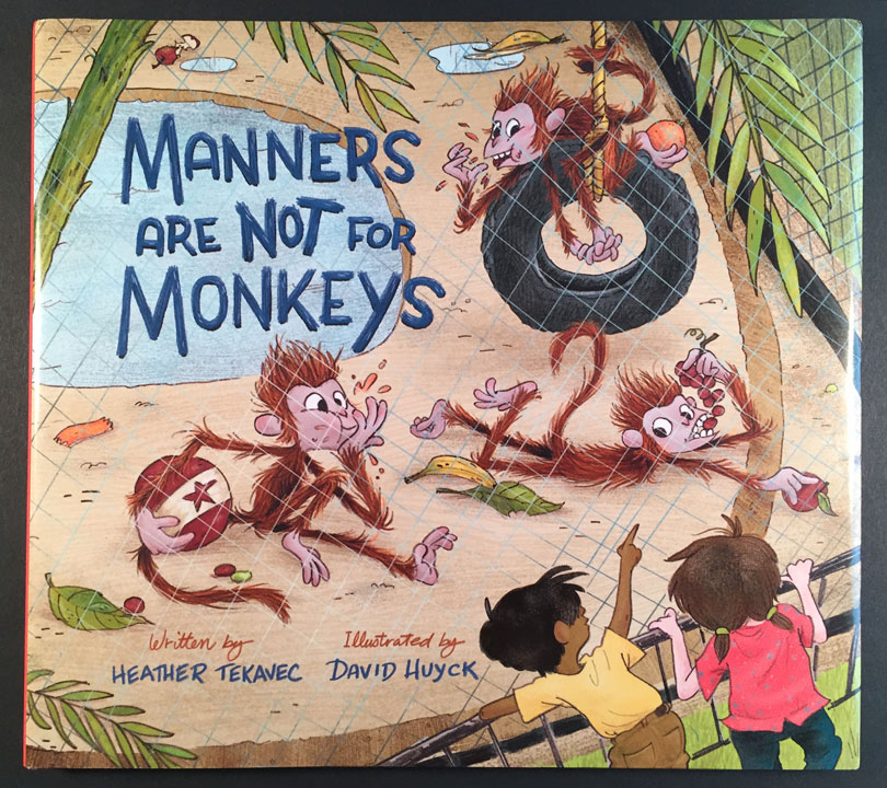 cover for Manners Are Not For Monkeys